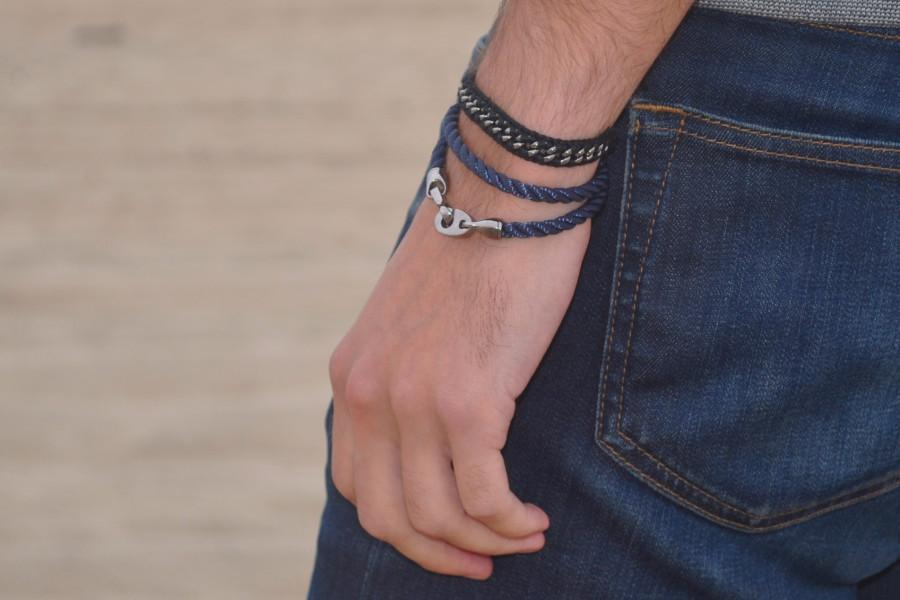 Sailormade - Player Rope Bracelet - Navy