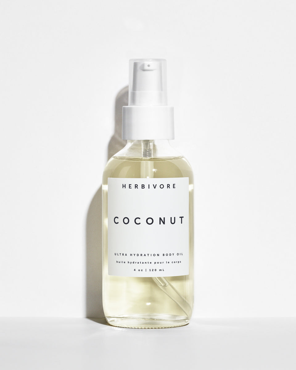 herbivore botanicals - coconut body oil