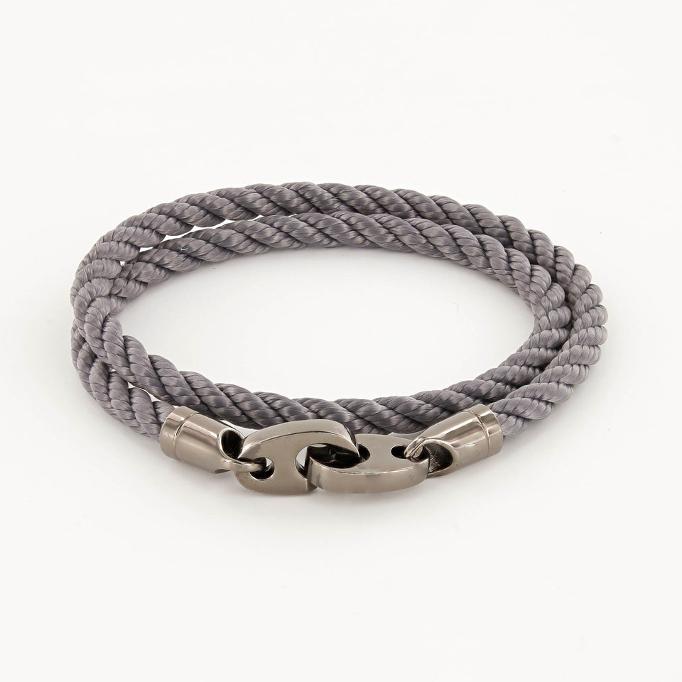 Sailormade - Player Rope Bracelet - Charcoal
