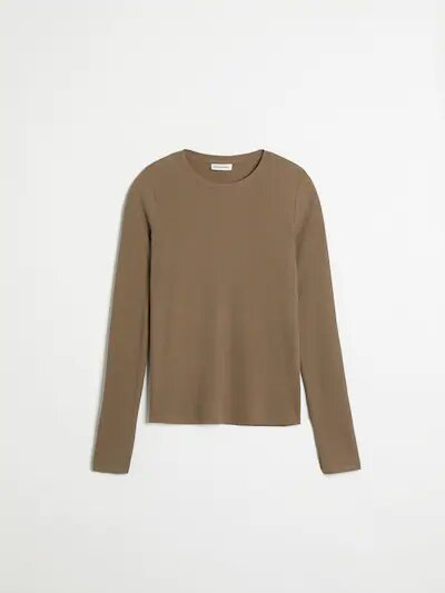 frank & oak - long sleeved modal-blend ribbed tee