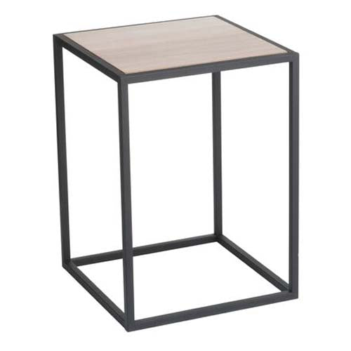 yamazaki home - tower square coffee table black