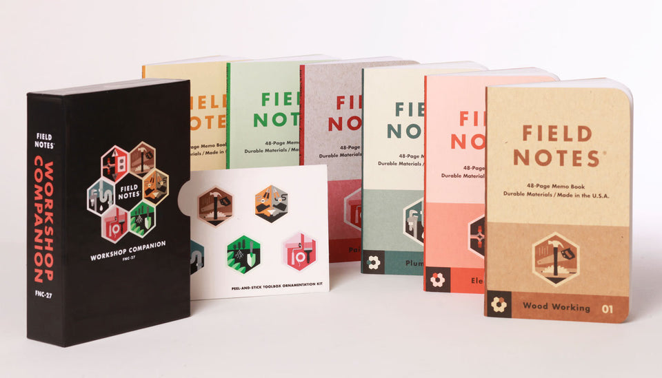 "Field Notes - ""Workshop Companion"" Memo Books 6-pack"