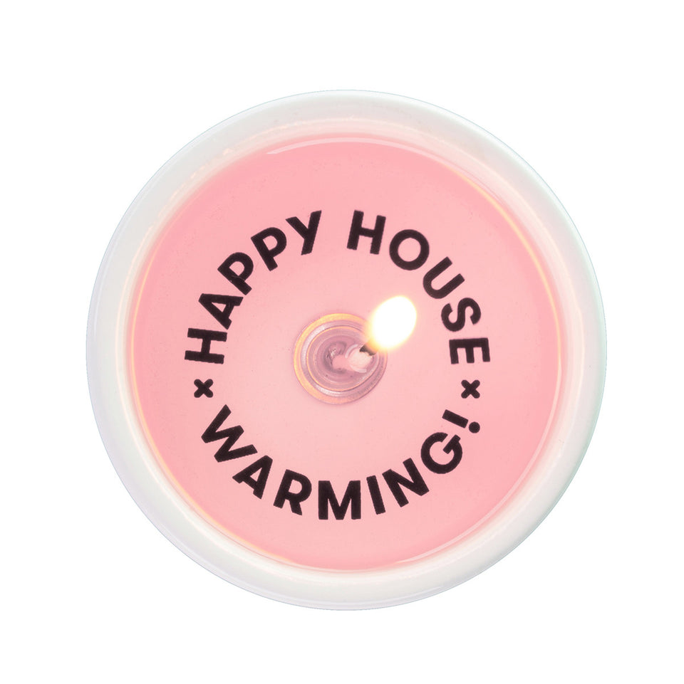 PyroPet Candles - Happy Housewarming Secret Message Candle