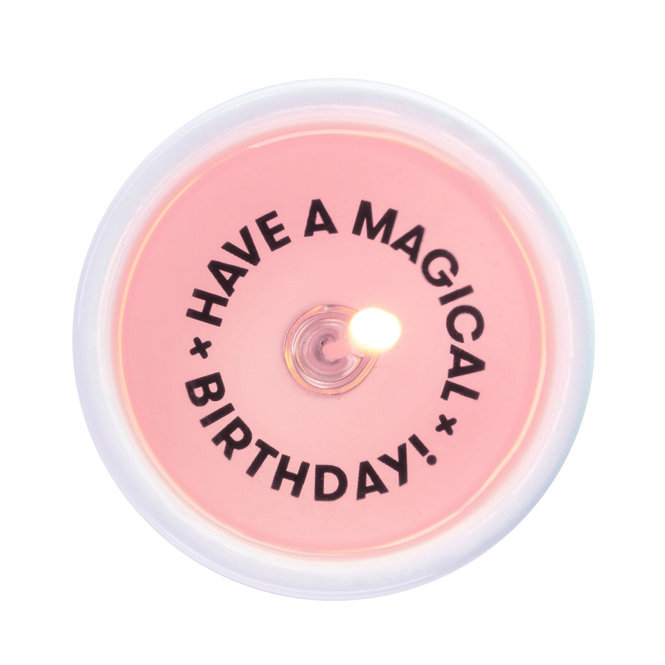 pyropet - have a magical birthday secret message candle