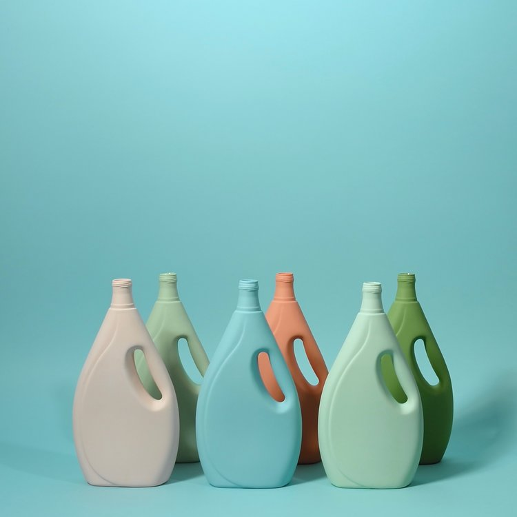Middle Kingdom - Laundry Detergent Bottle Vase