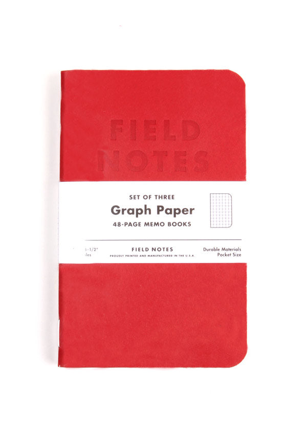 Field Notes Red Blooded