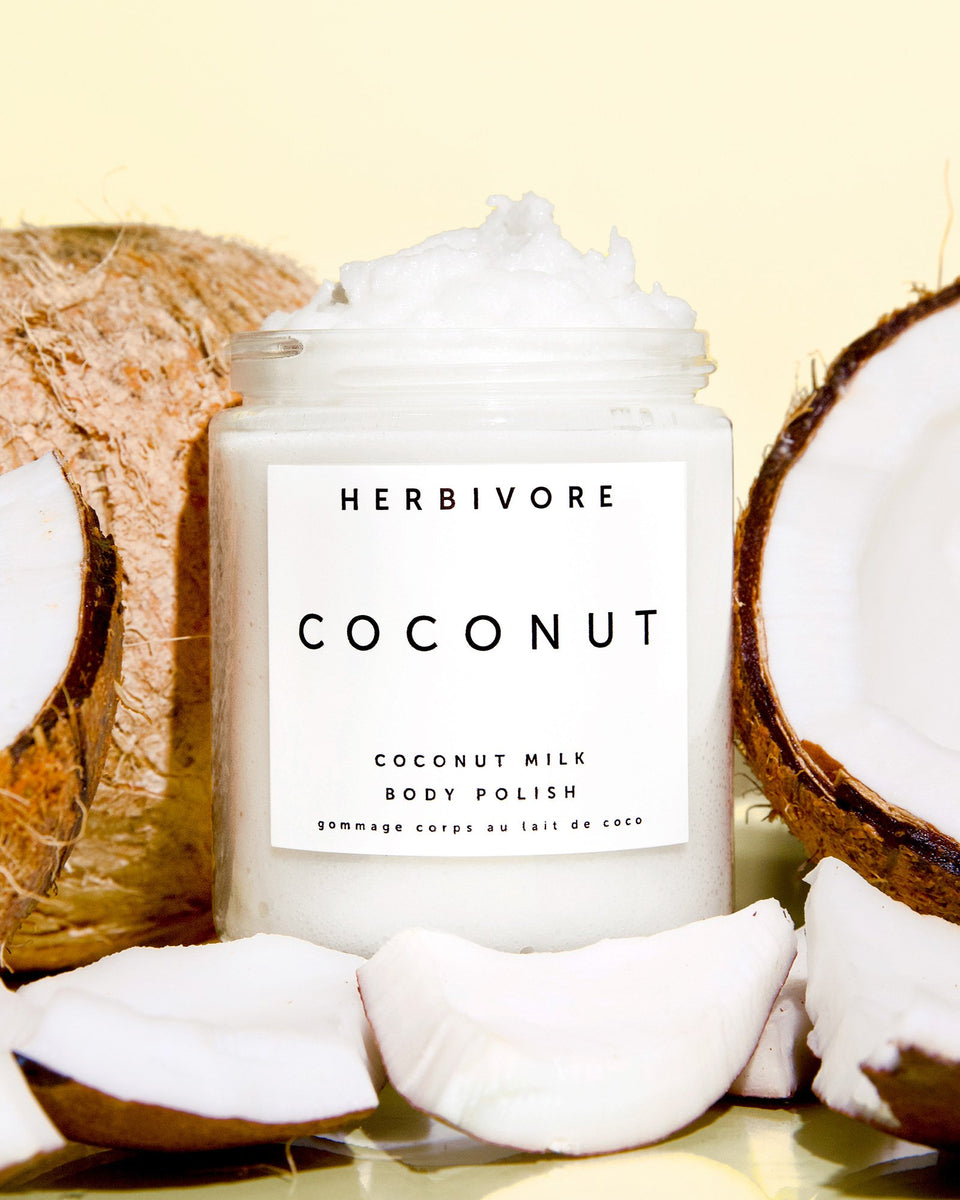 herbivore botanicals - coconut milk body polish