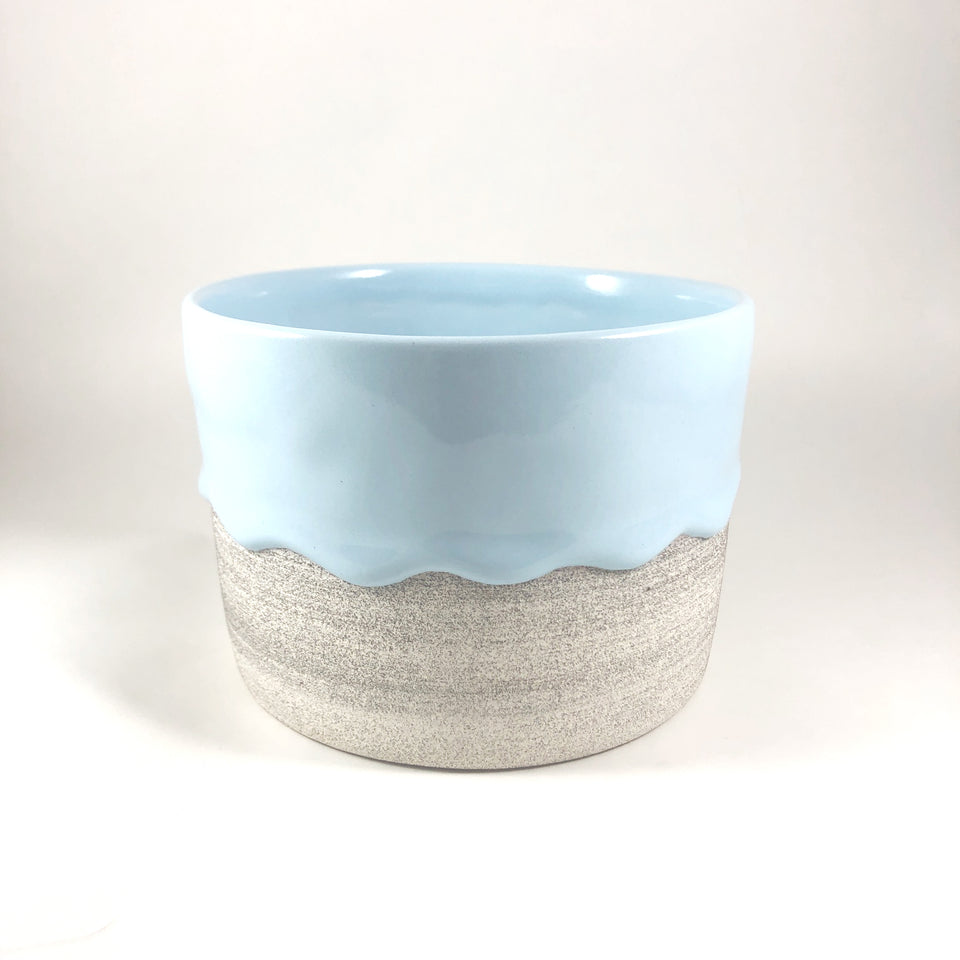 drippy pots - wide planter