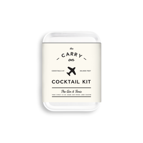 Carry-on Cocktail Kit - Gin & Tonic