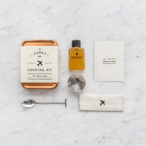 w&p design - carry-on cocktail kit (moscow mule x sugarfina)