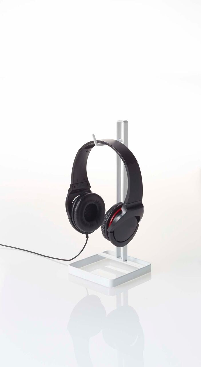 Yamazaki Home - Beautes Square Headphone Stand White