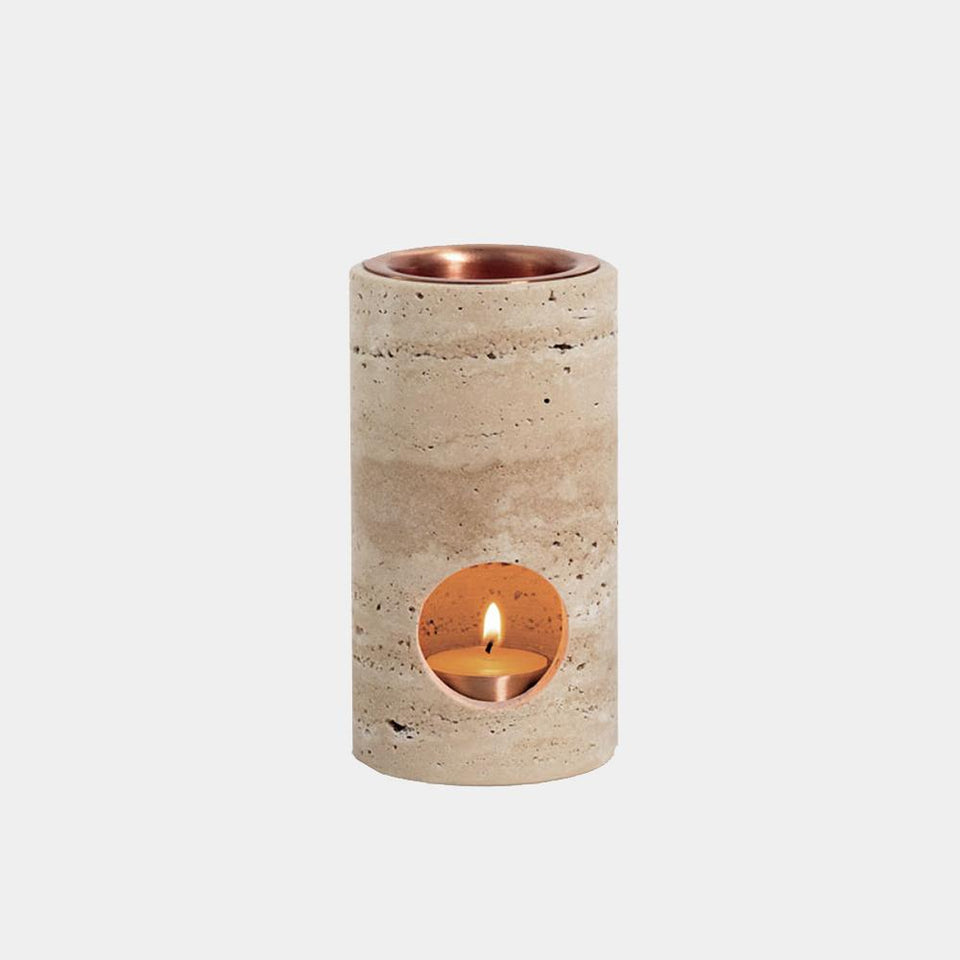 addition studios - Travertine synergy oil diffuser
