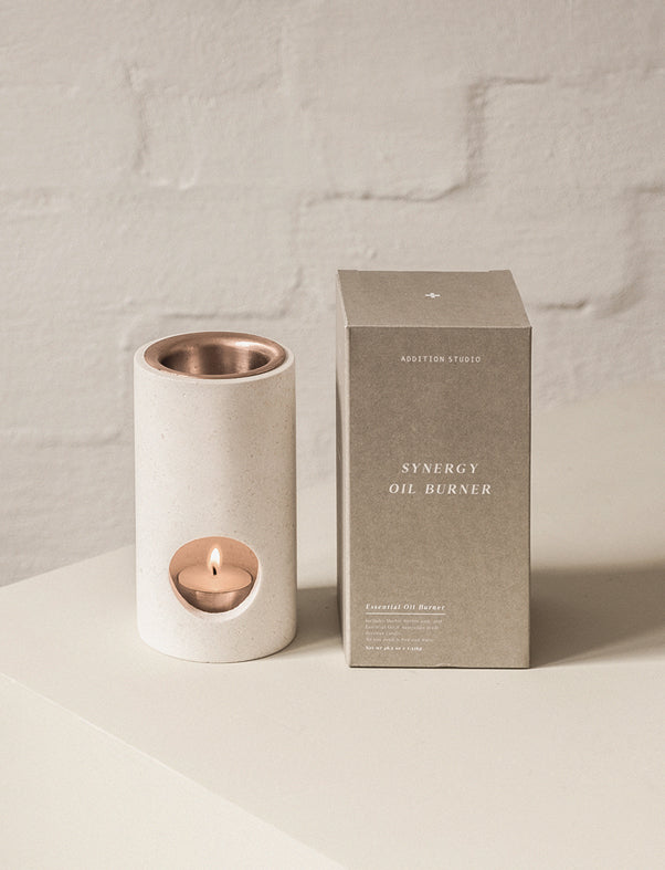 addition studios - limestone synergy oil diffuser
