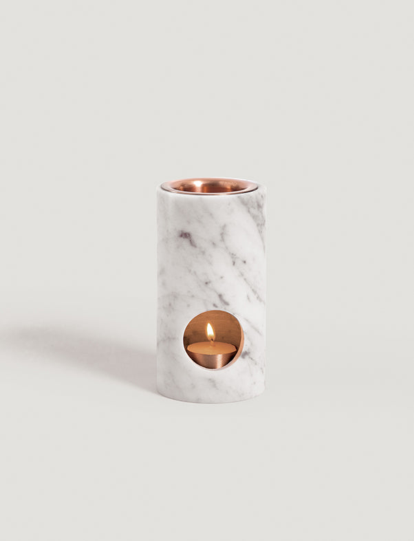 addition studio - carrara marble synergy oil diffuser