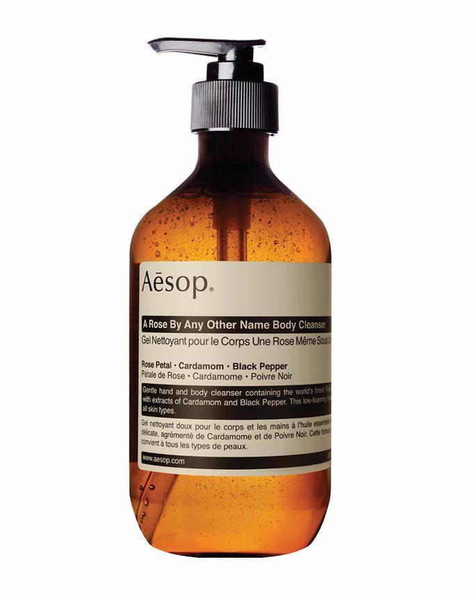 aesop - a rose by any other name body cleanser