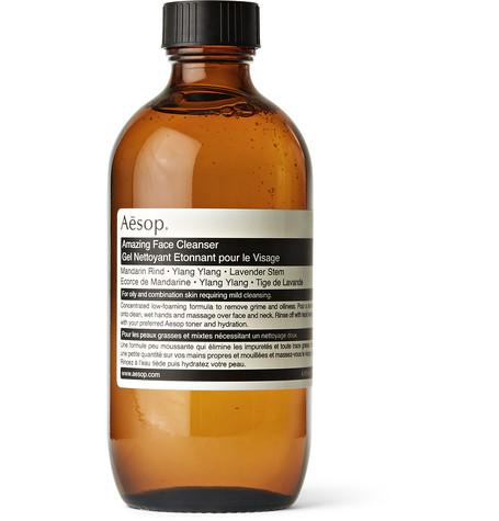 aesop - amazing face cleanser