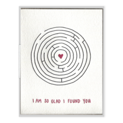 INK MEETS PAPER - So Glad I Found You - Greeting Card