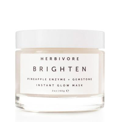herbivore botanicals Brighten Pineapple + Gemstone Mask - Fresh Laundry Co.