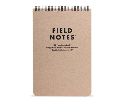 Field Notes - 80-Page Steno Book
