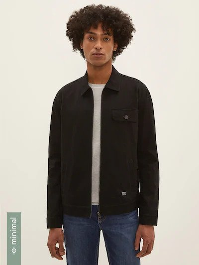 frank & oak - the commuter jacket in black