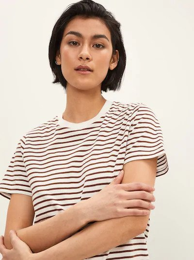 frank & oak - the striped essential tee