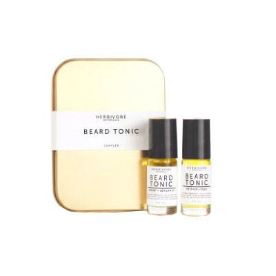 herbivore botanicals beard tonic sampler - Fresh Laundry Co.