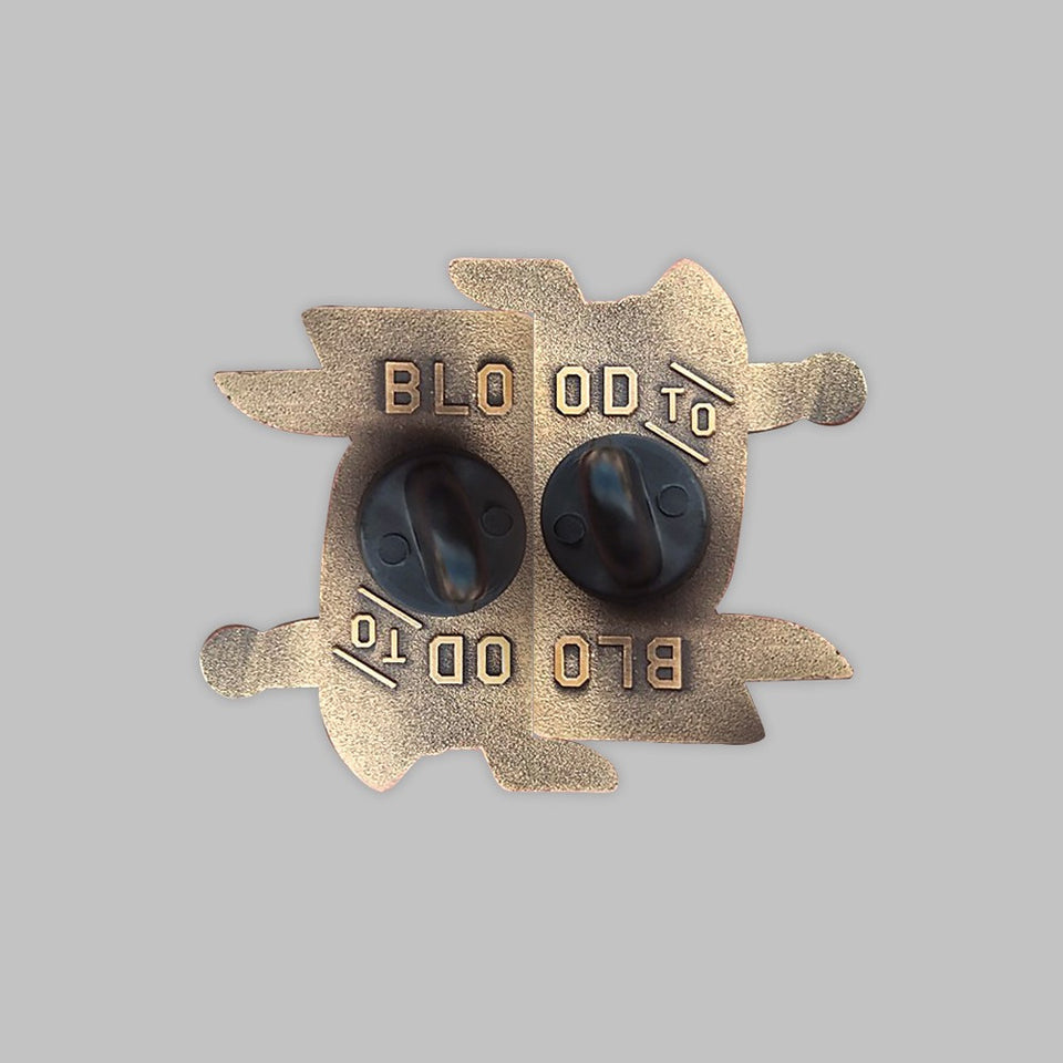 beeteeth - blood ceremony pin set