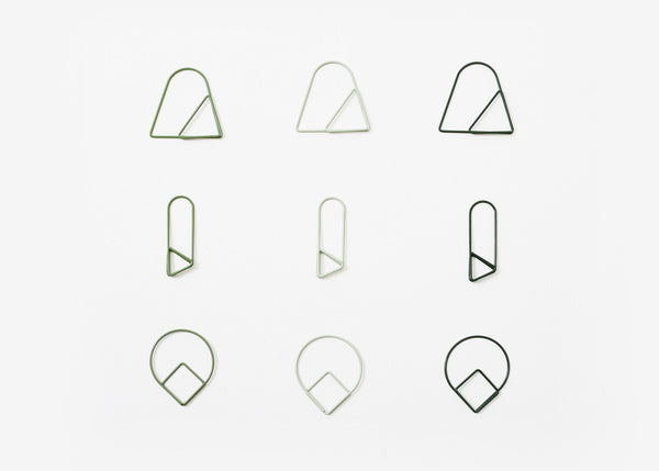 Paper Clips: Green
