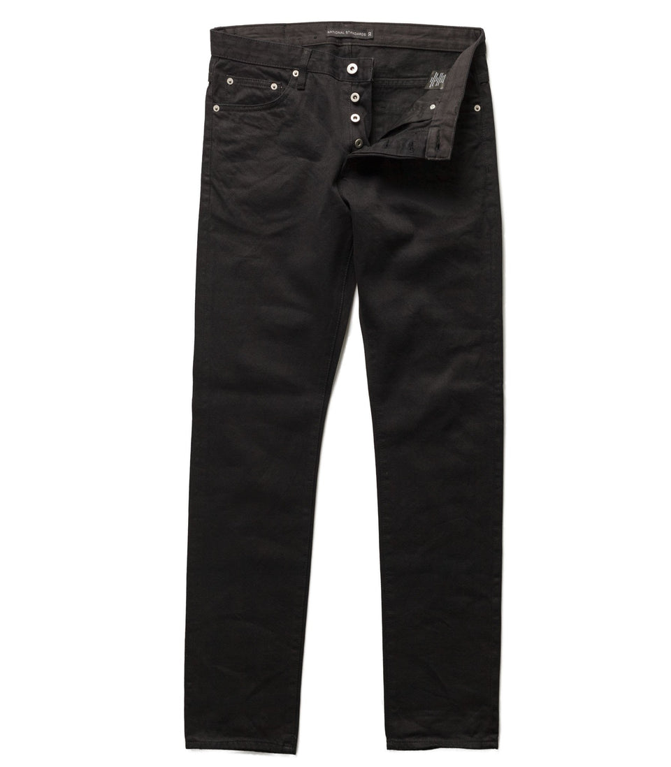 national standards - atlanta in black denim