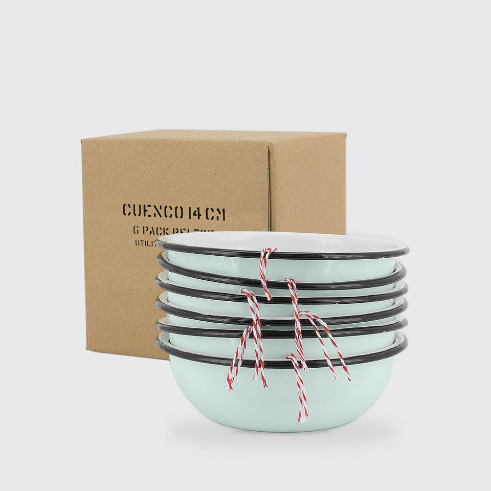 utilitario mexicano -  enamel Bowl 1pc
