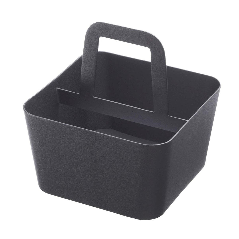 yamazaki home - tower storage caddy black small