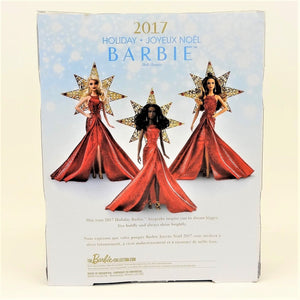 Holiday Barbie 2017 - Red Dress Mattel DYX40