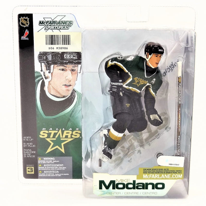 Mcfarlane Sportspicks NHL Series 3 Mike Modano NHLPA Figure 2002