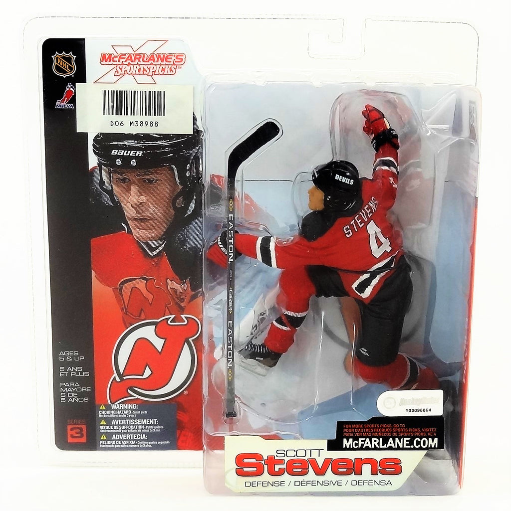 Mcfarlane Sportspicks NHL Series 3 Scott Stevens NHLPA Figure 2002