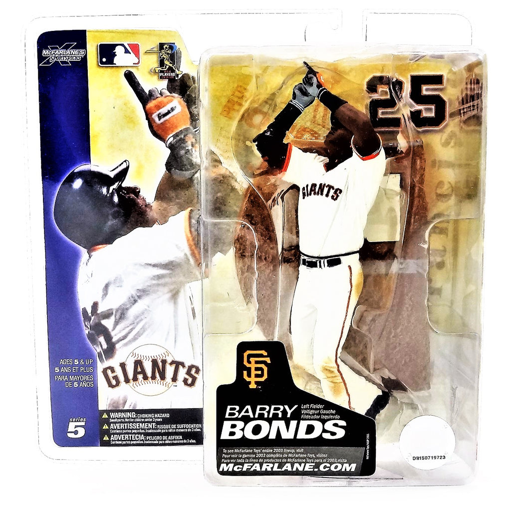 Mcfarlane Sportspicks MLB Series 5 Barry Bonds Figure 2003