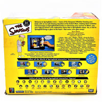 The Simpsons Intelli-tronics Playmates Burns Manor Interactive Environment Includes PJ Mr. Burns Figure #140664 2002