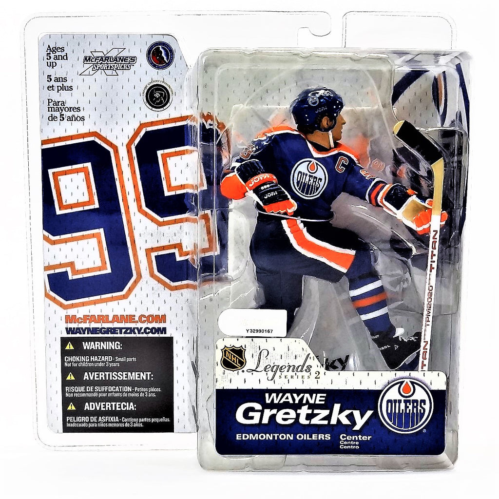 Mcfarlane Sportspicks NHL Legends Series 2 Wayne Gretzky NHLPA Figure 2005