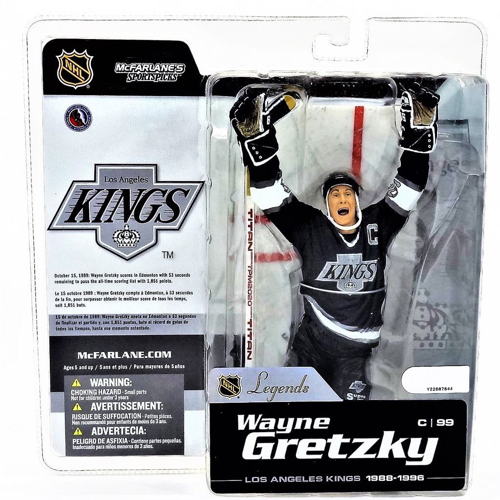 Mcfarlane Sportspicks NHL Legends Series 1 Wayne Gretzky NHLPA Figure 2004