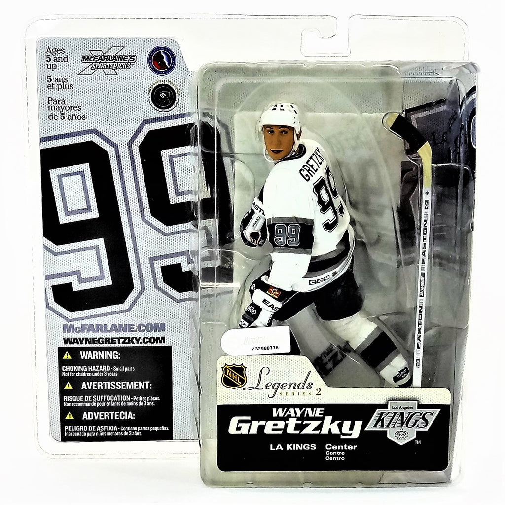 Mcfarlane Sportspicks NHL Legends Series 2 Wayne Gretzky Kings NHLPA Figure 2005
