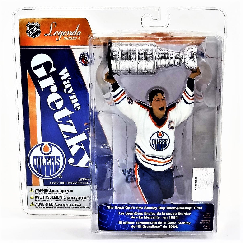 Mcfarlane Sportspicks NHL Legends Series 4 Wayne Gretzky With Stanley Cup NHLPA Figure 2006