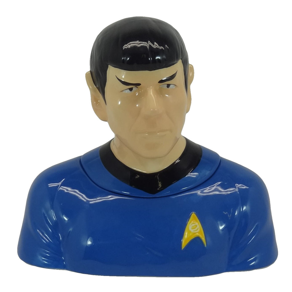 "Star Trek's ""Spock"" Cookie Jar 2011 Westland Giftware No. 21806"