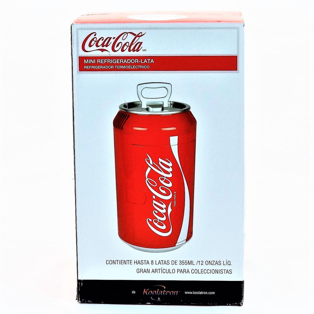 Coke Can Shaped Koolatron Mini Cooler Refrigerator