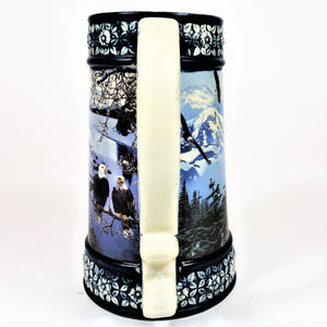 "Miller Brewing Co. ""Four Seasons"" Collector Beer Stein"