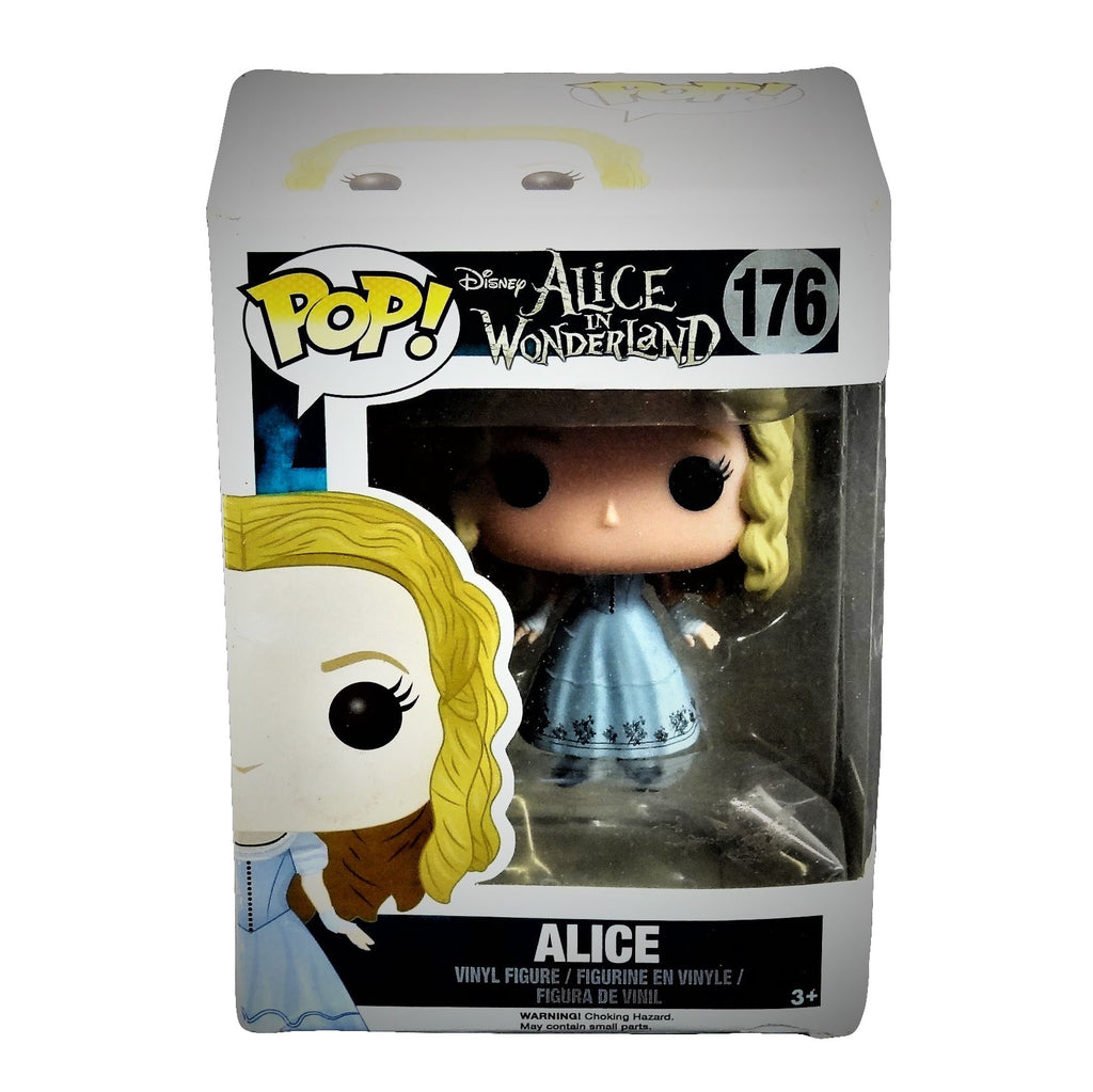 "Funko Pop Disney ""Alice in Wonderland"" Alice Vinyl Figure #176 2010"