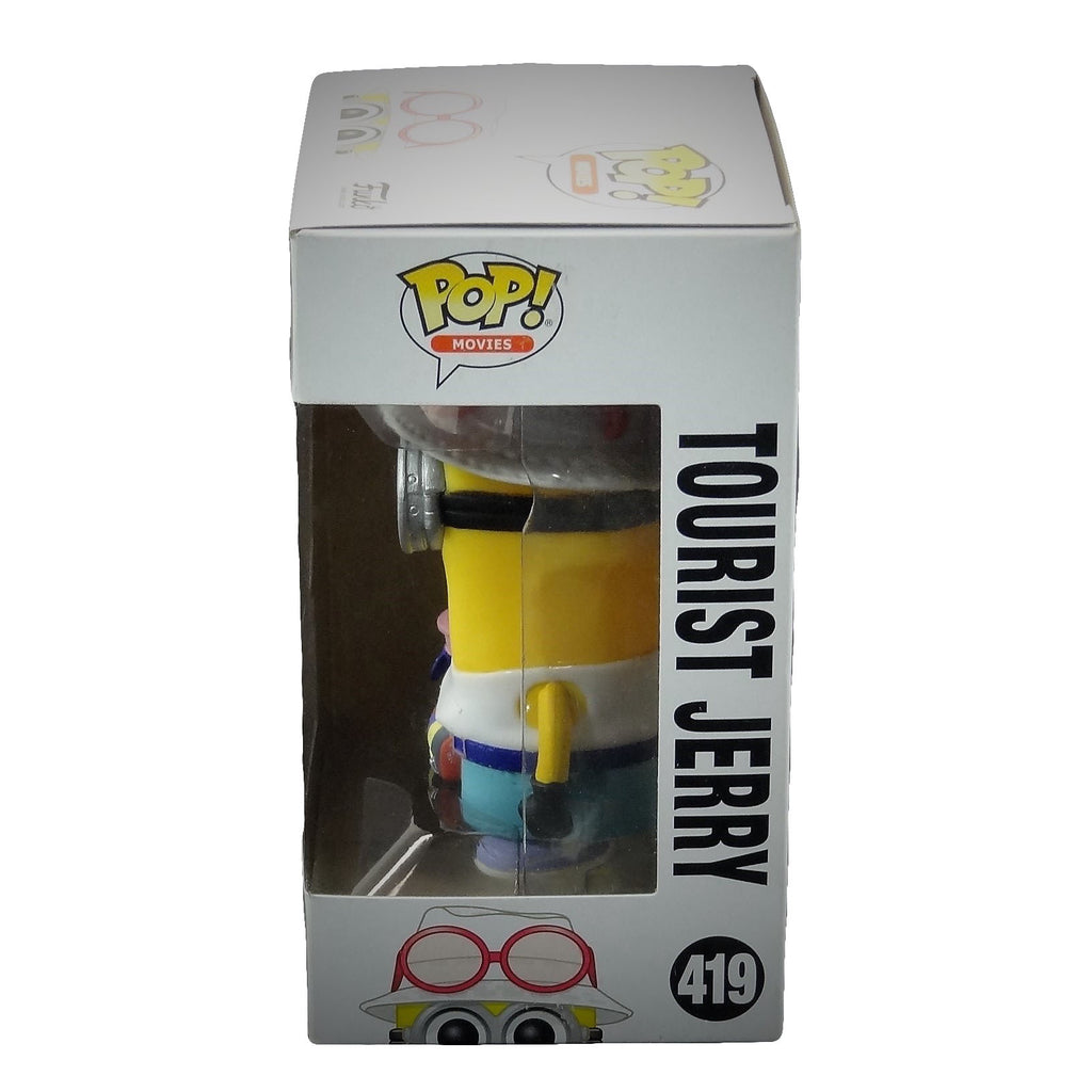 Funko Pop Universal Illumination Despicable Me3 Tourist Jerry #419