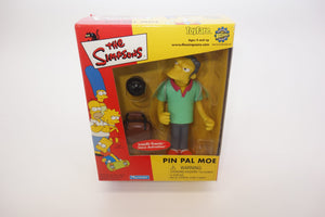 The Simpsons Pin Pal Moe Interactive Intelli-Tronic Figurine 1