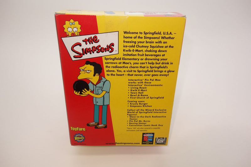 The Simpsons Pin Pal Moe Interactive Intelli-Tronic Figurine 3