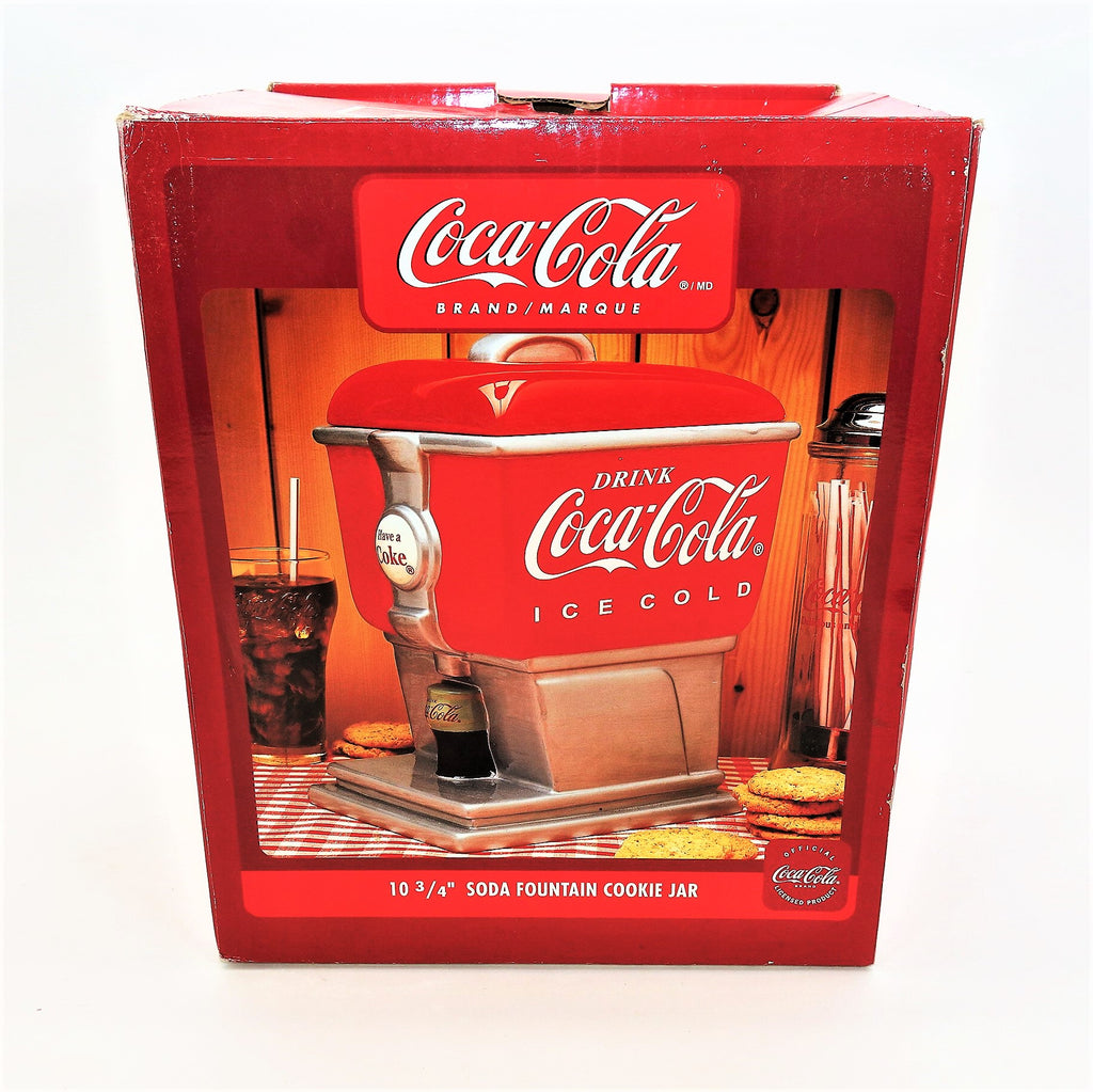 Gibson Coca-Cola Soda Fountain Cookie Jar