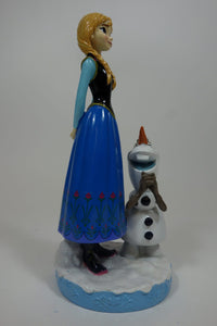 "Anna With Olaf 12"" Gnome 2"