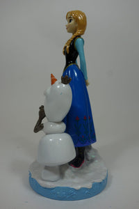"Anna With Olaf 12"" Gnome 4"